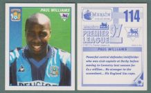 Coventry City Paul Williams 114